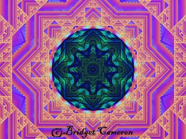 Peace mandala.