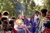 me in Mt Abu, Rajasthan, with locals.